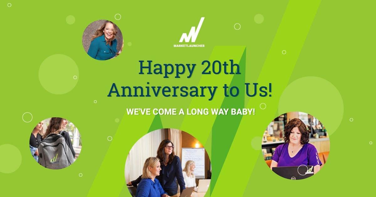 Happy 20th Anniversary to MarketLauncher.